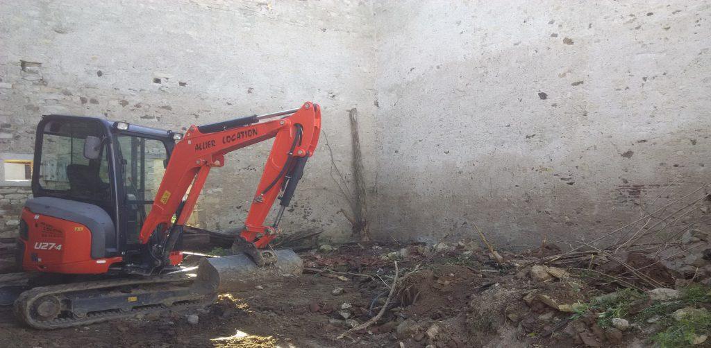 nettoyage  terrassement